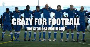 """""""Crazy for football"""", la storia vera di un'avventura: dal documentario al libro"""